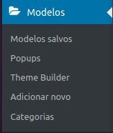 modelo de blocos para o Blog